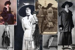 MODA Y MAQUILLAJE EN LOS AÑOS 1910-1919