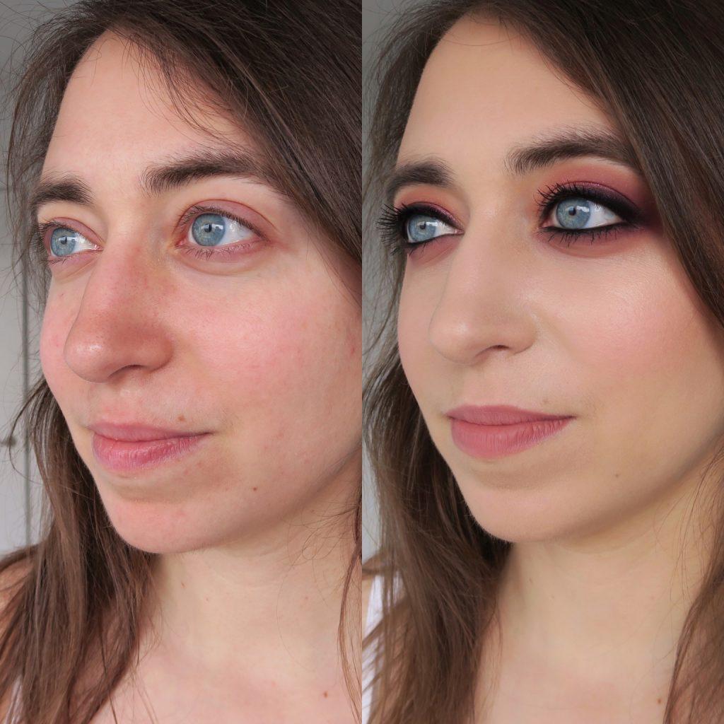 antes y después maquillaje